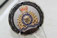 Royal Canadian Mounted Police Agassiz Detachment 1982 to 2002 Challenge Coin