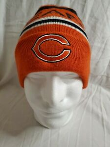 Knit Beanie Chicago Bears Official Team NFL Hat Cap Logo Apparel YOUTH boy girl