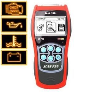 Professional OBDII + EOBD Code Reader and Scanner - Compatible with most brands
