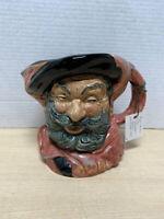 "Royal Doulton  England Mug SIR JOHN FALSTAFF D6287 Toby Jug 1950-1999 6 1/2"""