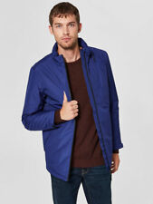 Selected Homme Waterproof Taped Seam Jacket With Thinsulate Lining Blue, M, £195