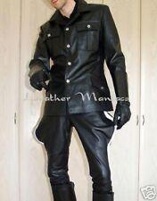 Uniform Jacket Uniform Leather Shirt Leather Jacket Lederuniform