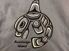 Bainbridge Island Northwest Coast Indian TSHIRT MENS M MEDIUM New without Tag WA