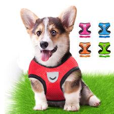 Домашнее животное собака регулируемый мягкий дышащий упряжь щенок кошка управления сетка жилет воротник