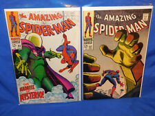 Marvel Amazing Spider-Man #66 & 67 FN/VF Mysterio Covers / Story Stan Lee Romita