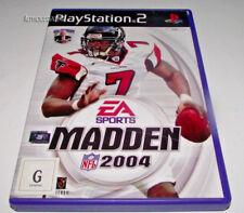 Madden 2004 PS2 PAL *No Manual*