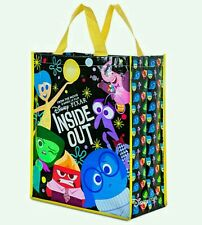 BNWT dentro fuori Tote Shopping Bag GIOIA ORIGINALE DISNEY STORE SADNESS BING BONG