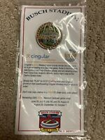 St Louis Cardinals Busch Stadium Limited Edition Pin SGA 2005 NIP Mlb