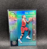 Trae Young Atlanta Hawks Numbered 083/125 Teal Illusions NBA Panini Rare #136