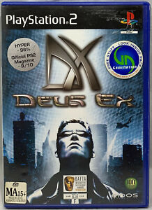 DEUS EX PLAYSTATION 2 PAL - PS2