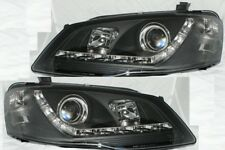 Projector Headlights for Ford Falcon BF Model Sedan Ute Wagon DRL Like LED Black