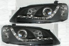 Projector Headlights for Ford Falcon BF Model Sedan Ute Wagon DRL Like LED Black