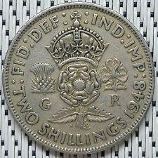 GREAT BRITAIN - 1948 - 2 Shillings George VI #CALX
