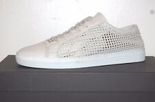 Dolce & Gabbana Gray Men's Leather Summer Net Sneakers Shoes Size 11 US 12 $445