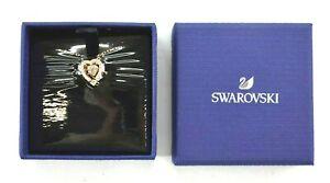 Swarovski 5284188 Sparkling Dance Stone Heart Pendant Necklace Rose Gold New