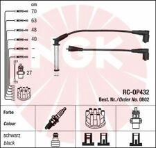 Jeu de fil de bougie cable allumage NGK 0802 VAUXHALL CAVALIER Mk III 87 1.6 82c