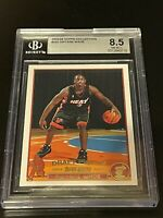 2003-04 Topps Collection Gold #225 Dwyane Wade RC BGS 8.5