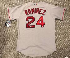 MANNY RAMIREZ Signed BOSTON RED SOX Jersey 04 WS MVP PSA/DNA  Auto Authentic