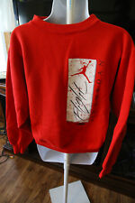 Vintage Nike Air Jordan Sweater Mens Small Red Flight Made in USA
