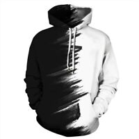 Tops Unisex 3D Print Pullover Graphic Mens Sweatshirt Womens Hoodie Hooded