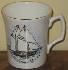 Bluenose II Coffee Mug Cup Fine Bone China Sailing Schooner Sail Boat Queensway