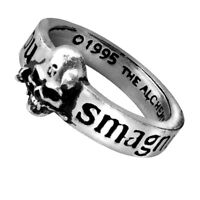 GENUINE Alchemy Gothic Ring - Great Wish | Men's Ladies Skull Fashion Jewellery