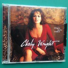 Chely Wright SINGLE WHITE FEMALE Country Folk CD Nashville Picket Fences USA 99