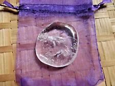 52-Pierre plate cristal de roche medium_30/35grs-Reiki