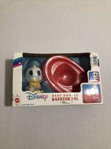 MATTEL Disney Baby Donald Duck Bathtub Pal Toy 1991 Bath Toy Vintage