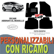 TAPPETI AUTO SU MISURA PER KIA SPORTAGE (3) MOQUETTE E FONDO GOMMA + RICAMO EASY