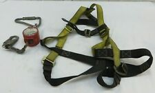 Guardian Fall Protection 01700-QC Harness S-L & Miller MiniLite Fall Limiter