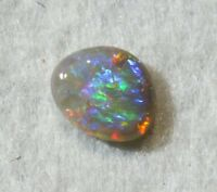 Red Green Blue Gold Dark Australian Opal Gemstone 0.90cts.