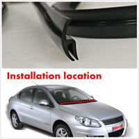 Universal 1.7M Rubber Sealed Strips Trim Front windshield wiper Plastic Panel