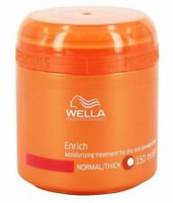 NEW Wella Enrich Moisturizing Treatment for Dry Damaged Hair Fine/Normal 5oz
