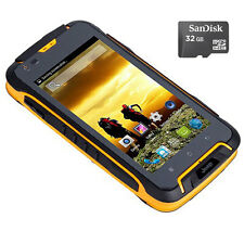 Android 32GB Unlocked JEEP F605 3G Rugged Smartphone Mobile Waterproof Dual SIM