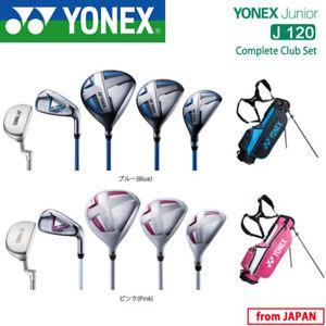 for JUNIOR YONEX GOLF JAPAN COMPLETE CLUB SET J120 and CB-6701J STAND BAG 19ss