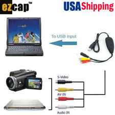 USB Analog Video Capture,8MM Camera VHS TV Game Player DVD Player to PC,Win10 /7