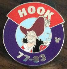 Captain Hook Parking Lot Series (Disney Hidden Mickey Pin)