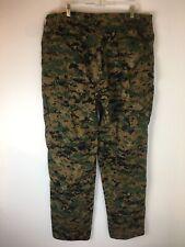 Propper USMC Woodland Marpat Camouflage Combat Pants Men XL - Long Cotton Nylon