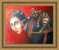 ORIGINAL Painting  Oil canvas Modern Art Russian surrealism postimpressionism