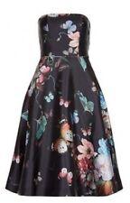 0d99e05f5b5 ᴥᴥbnwt Monsoon Eleanora Dress Sz 16 Black Floral Butterflies 50 s Fit Flare  Prom
