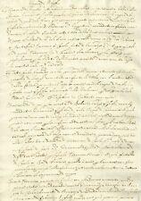 Manoscritto 1600 Studio sul Regno di Napoli Fonte Guicciardini Notizie Storiche