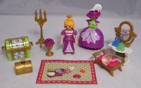 PLAYMOBIL aus 5148 Ankleidepuppe Prinzessin Teppich Schminktisch Truhe Kerze #17