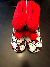 NEW Youth Hello Kitty Character Slippers 7/8. Warm Gift Kid Boy Girl. NWT