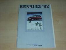 32990) Renault R19 16V Alpine A610 Espace Prospekt 1991