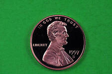 1997-S  Deep Cameo Lincoln Penny US GEM  Proof Coin