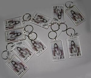 Transparente  Foto  Schlüsselanhänger Spitzenqualität Passbilder 2,8 x 4,7 cm