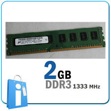 DIMM 2Gb DDR3 PC10600 1333MHz Non ecc Memoria ram 2048Mb 2048 Mb 2 Gb