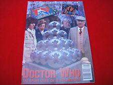TV ZONE #66 DOCTOR WHO ~ STAR TREK ~ SUPERMAN POSTER +++