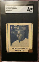 JACKIE ROBINSON 1948 R346 Blue Tint #36 - Hand Cut SGC Authentic 🔥Rookie Card🔥